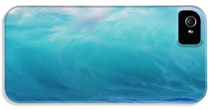 Afternoon IPhone 5 Case featuring the photograph Wave And Windspray by Vince Cavataio - Printscapes