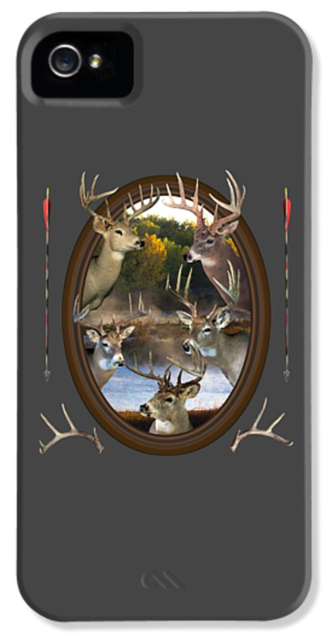 Whitetail Deer IPhone 5 Case featuring the photograph Whitetail Dreams by Shane Bechler