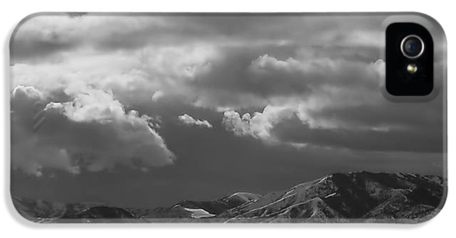 Salt Lake City IPhone 5 Case featuring the photograph Winter Sky by Rona Black