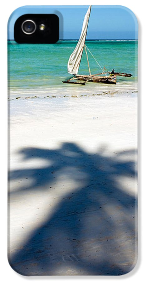 3scape Photos IPhone 5 Case featuring the photograph Zanzibar Beach by Adam Romanowicz