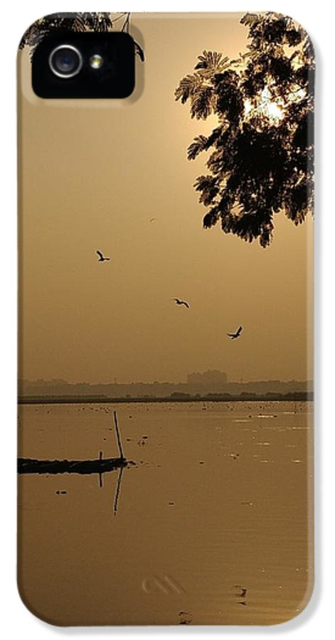 Sunset IPhone 5 Case featuring the photograph Sunset by Priya Hazra