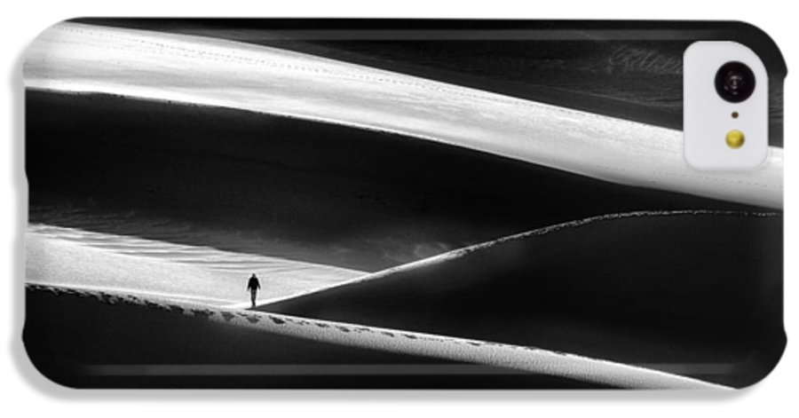 Bw IPhone 5c Case featuring the photograph Lost by Izidor Gasperlin