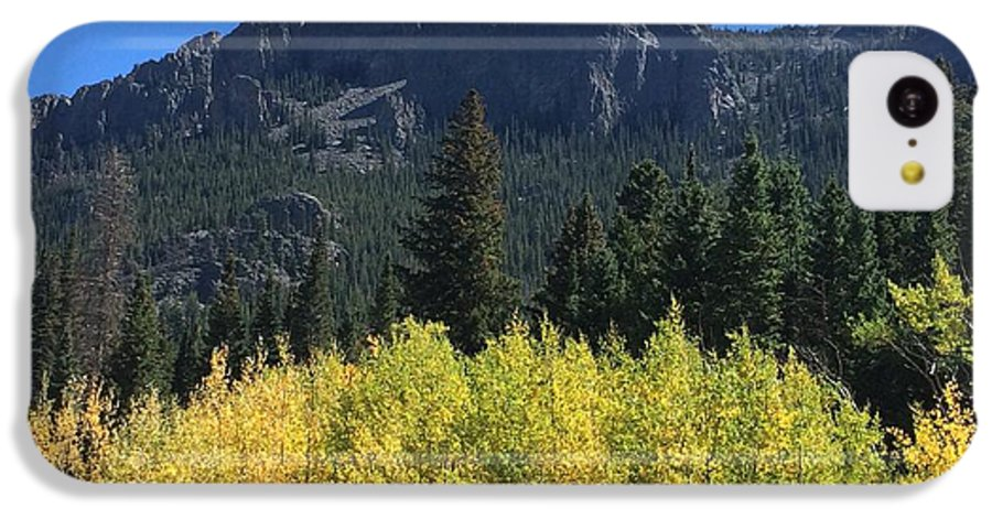 Landscape IPhone 5c Case featuring the photograph Fall At Twin Sisters by Kristen Anna