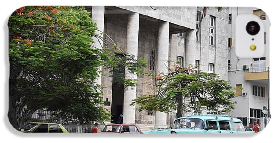Havana IPhone 5c Case featuring the photograph Havana by Cassidy Marshall