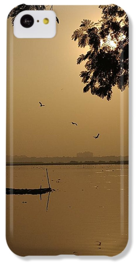 Sunset IPhone 5c Case featuring the photograph Sunset by Priya Hazra
