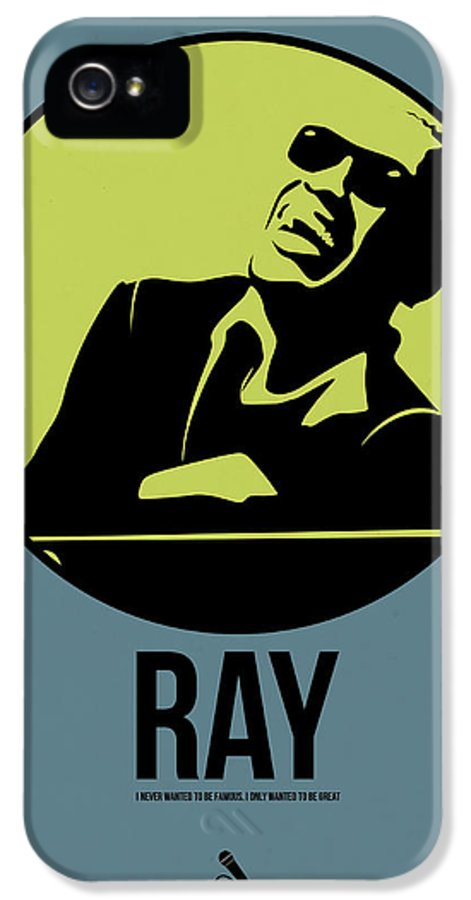 Music IPhone 5s Case featuring the digital art Ray Poster 2 by Naxart Studio