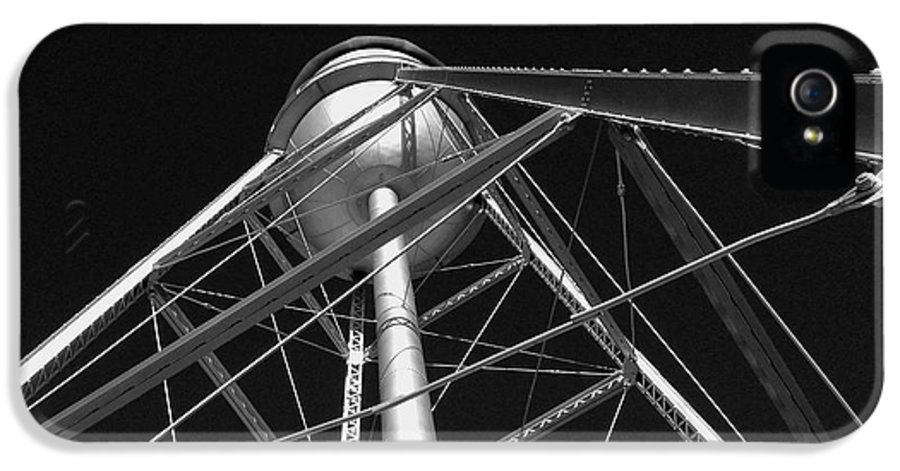 Architecture IPhone 5s Case featuring the photograph Water Tower by Dick Goodman
