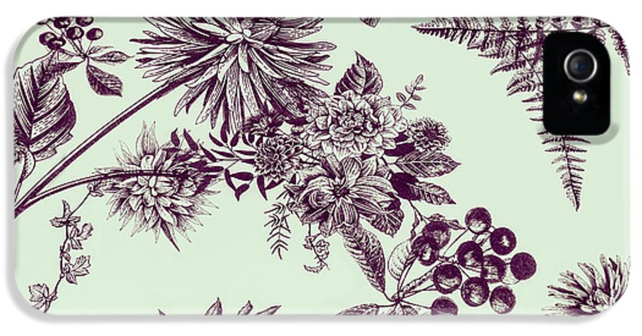 Ornate IPhone 5s Case featuring the photograph Dandelion Design by Jorgo Photography - Wall Art Gallery