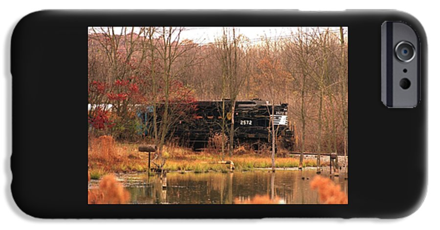 Train IPhone 6 Case featuring the photograph 080706-57 by Mike Davis