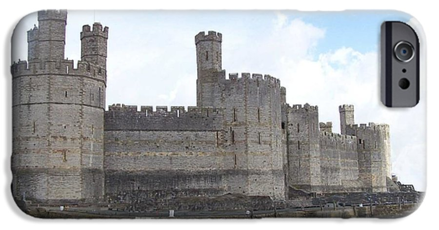 Castles IPhone 6 Case featuring the photograph Caernarfon Castle by Christopher Rowlands
