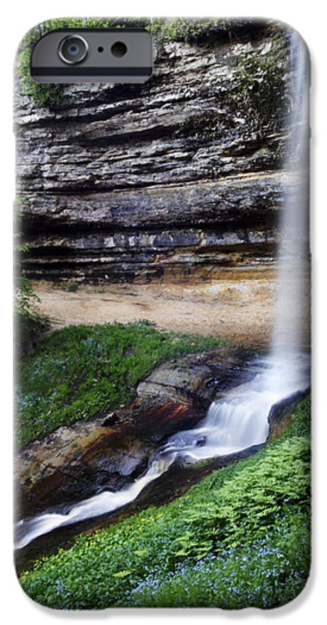 3scape Photos IPhone 6 Case featuring the photograph Munising Falls by Adam Romanowicz