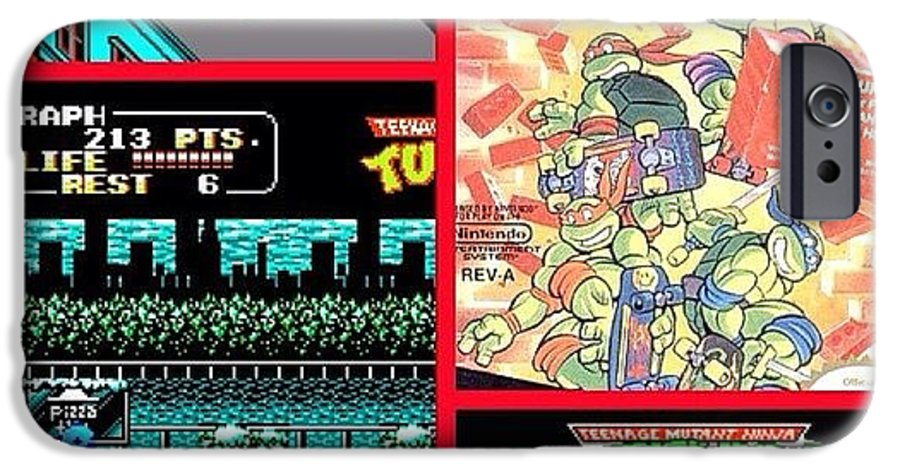 23 Years Ago Today, #tmnt 2 Arcade Game IPhone 6 Case
