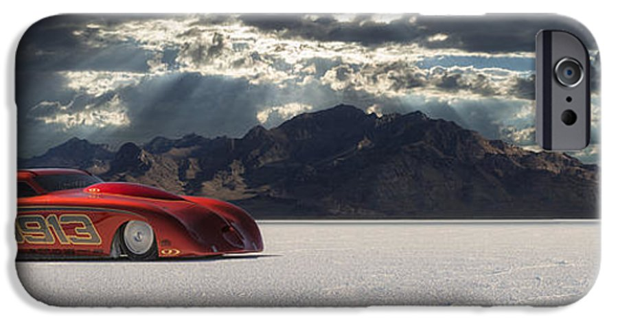 Bonneville IPhone 6 Case featuring the photograph 9913 by Keith Berr