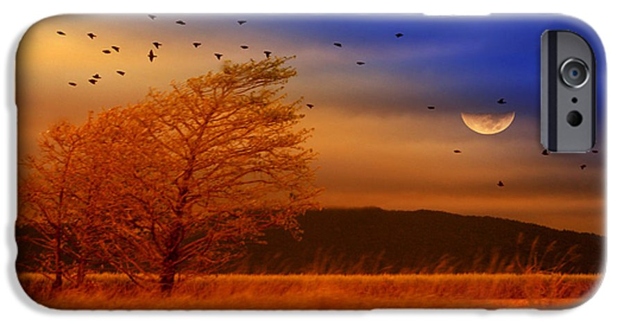 Landscape IPhone 6 Case featuring the photograph Against The Wind by Holly Kempe