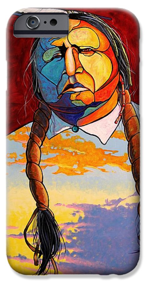 Spiritual IPhone 6 Case featuring the painting All That I Am by Joe Triano