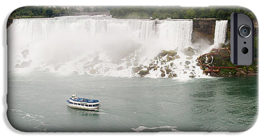 3scape IPhone 6 Case featuring the photograph American Falls by Adam Romanowicz