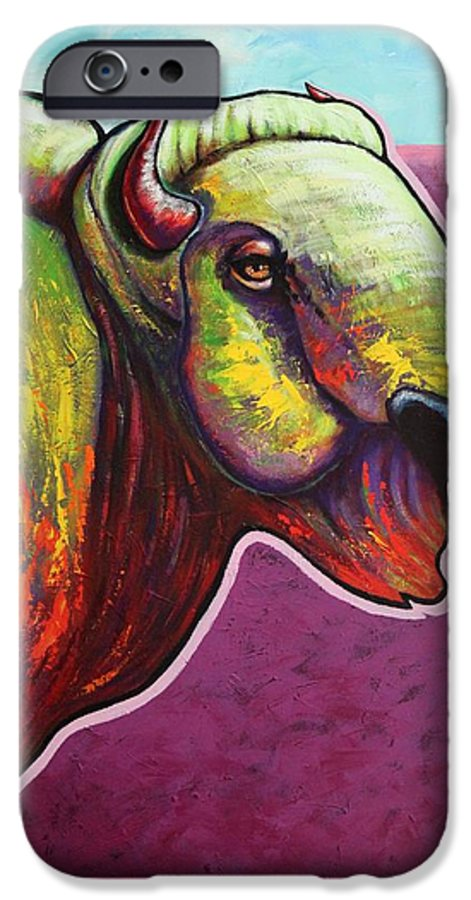 Wildlife IPhone 6 Case featuring the painting American Monarch by Joe Triano