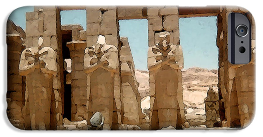 Art IPhone 6 Case featuring the photograph Ancient Egypt by Piero Lucia