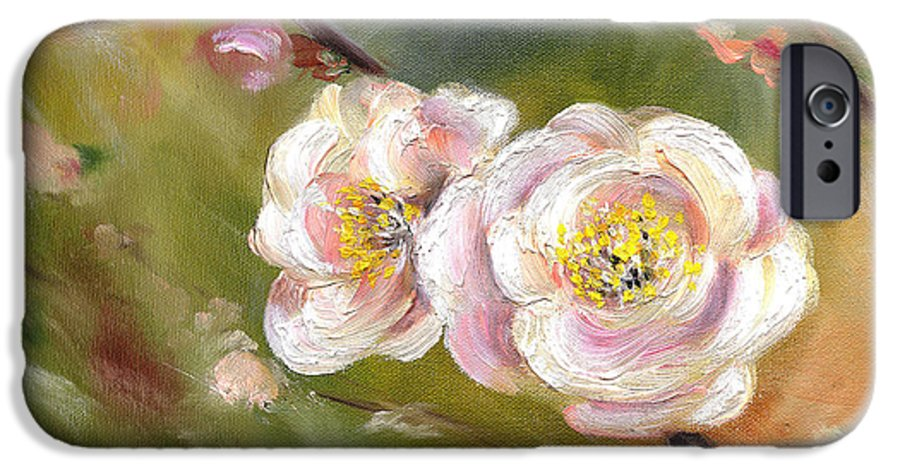 Flower IPhone 6 Case featuring the painting Anniversary by Hiroko Sakai
