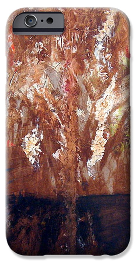 Autumn IPhone 6 Case featuring the painting Autumn by Holly Picano