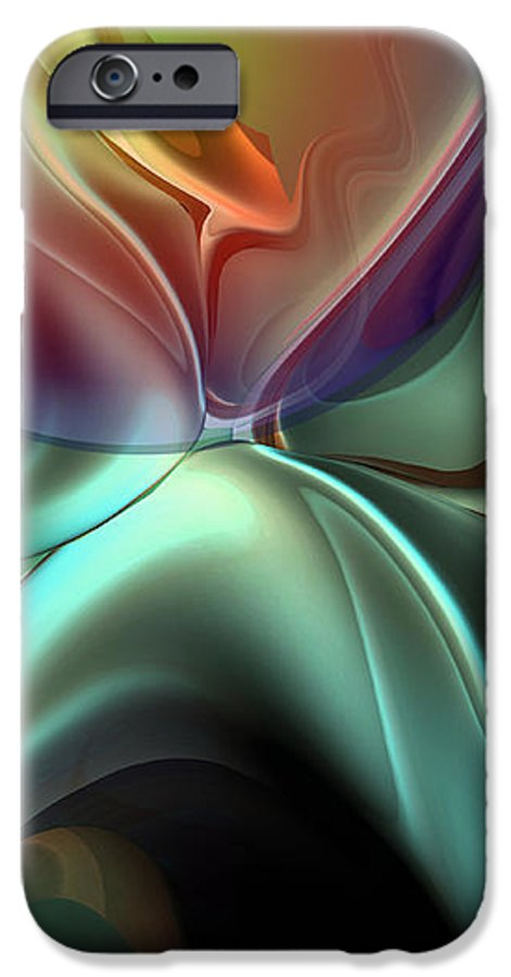 Reminiscence IPhone 6 Case featuring the painting Baroque Music Reminiscence by Christian Simonian