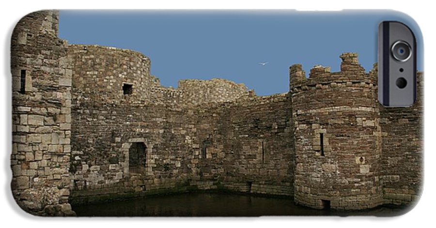 Castles IPhone 6 Case featuring the photograph Beamaris Castle by Christopher Rowlands