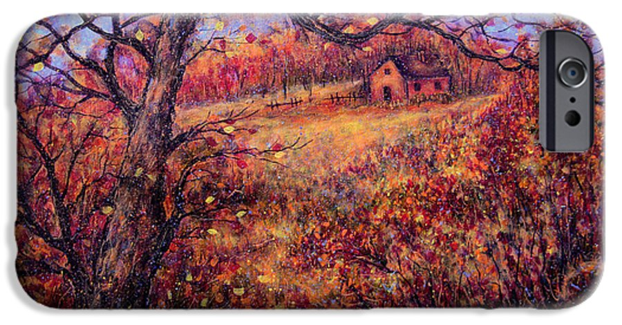 Autumn IPhone 6 Case featuring the painting Beautiful Autumn by Natalie Holland