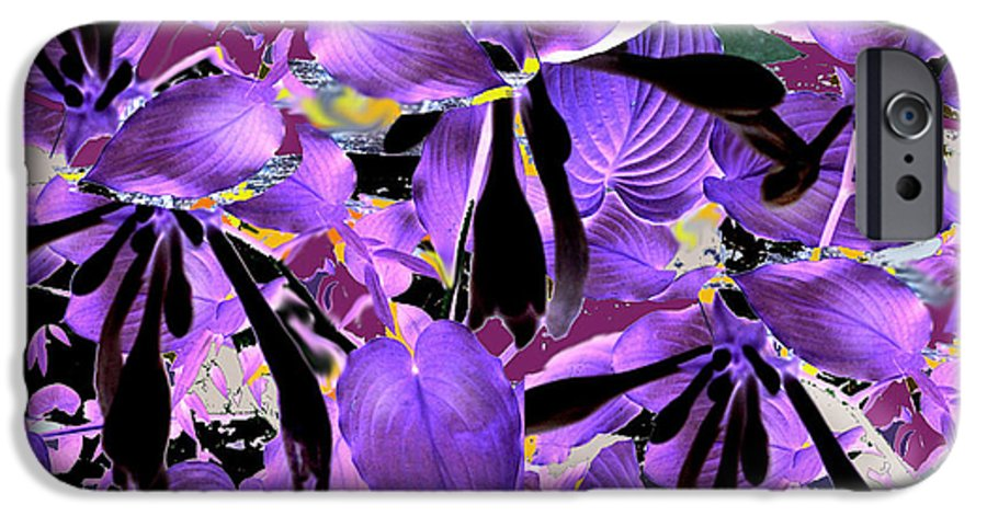Beware The Midnight Garden IPhone 6 Case featuring the digital art Beware The Midnight Garden by Seth Weaver