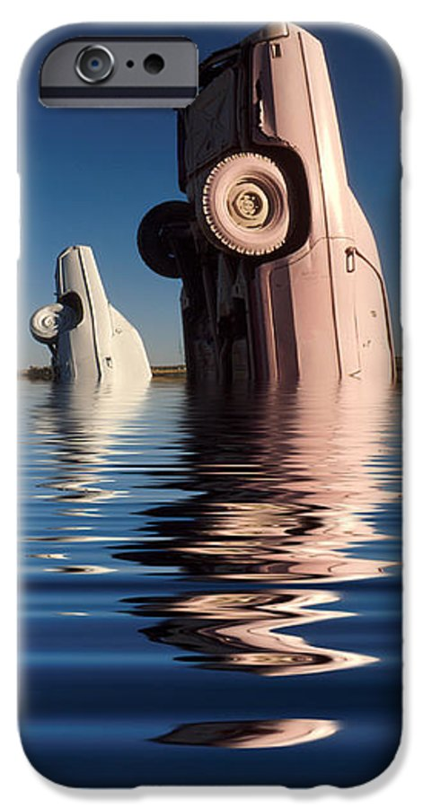Cadillac IPhone 6 Case featuring the photograph Bobbing For Carburetors by Jerry McElroy