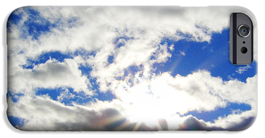 Sky IPhone 6 Case featuring the photograph Breaking Through by J Andrel