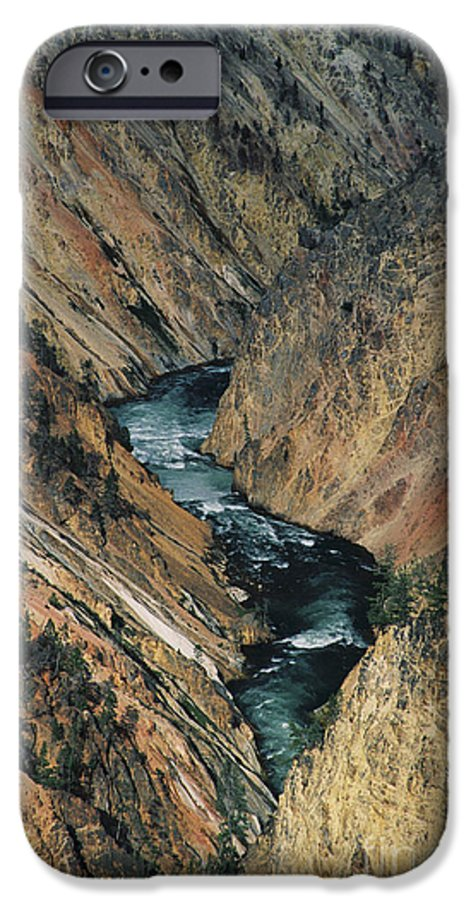 Yellowstone IPhone 6 Case featuring the photograph Canyon Jewel by Kathy McClure
