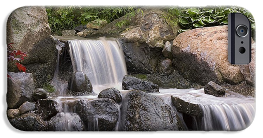 3scape Photos IPhone 6 Case featuring the photograph Cascade Waterfall by Adam Romanowicz