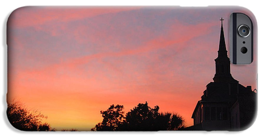 Charleston IPhone 6 Case featuring the photograph Charleston At Dusk by Suzanne Gaff