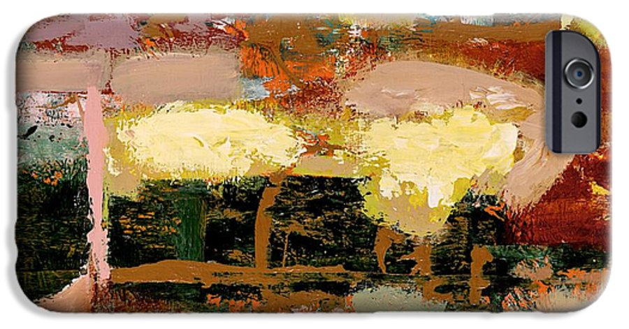 Landscape IPhone 6 Case featuring the painting Chopped Liver by Allan P Friedlander