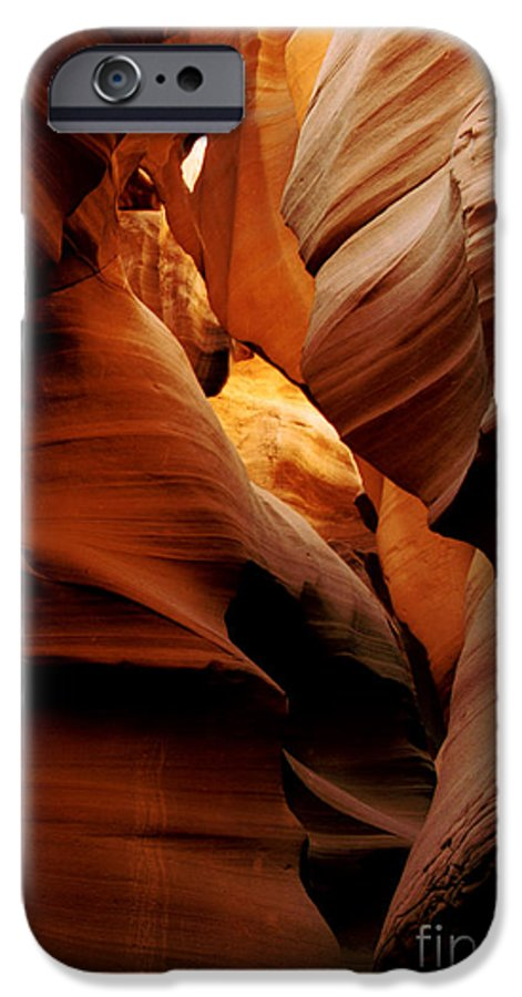 Antelope Canyon IPhone 6 Case featuring the photograph Convolusions by Kathy McClure