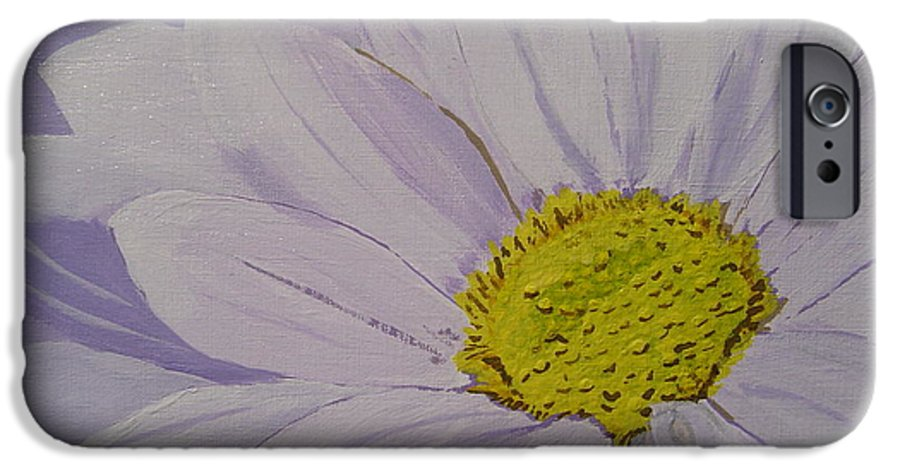 Daisy IPhone 6 Case featuring the painting Daisy by Anthony Dunphy