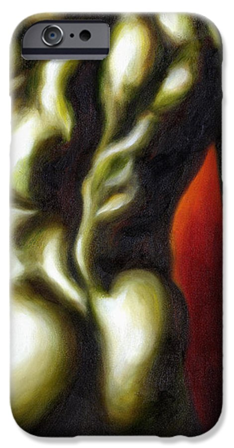 Man Nude Painting IPhone 6 Case featuring the painting Dancer Two by Hiroko Sakai