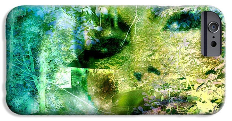 Deep Woods Wanderings IPhone 6 Case featuring the digital art Deep Woods Wanderings by Seth Weaver