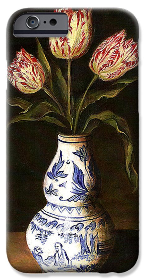 Dutch Still Life IPhone 6 Case featuring the painting Dutch Still Life by Teresa Carter
