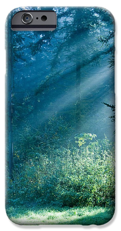 Nature IPhone 6 Case featuring the photograph Elven Forest by Daniel Csoka
