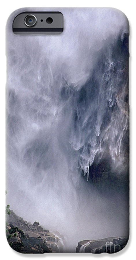 Waterfall IPhone 6 Case featuring the photograph Falling Water by Kathy McClure