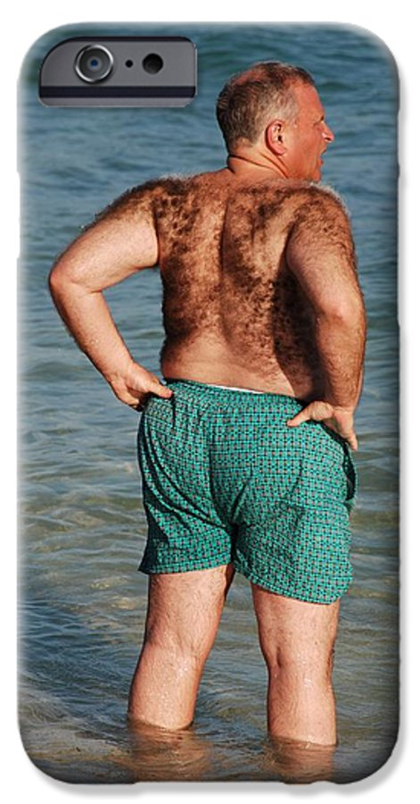Man IPhone 6 Case featuring the photograph Hairy Ocean by Rob Hans