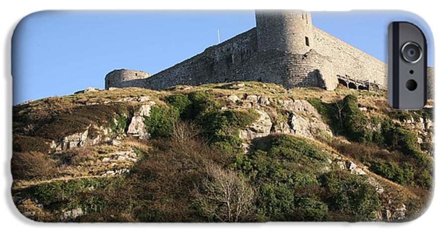 Castles IPhone 6 Case featuring the photograph Harlech Castle by Christopher Rowlands