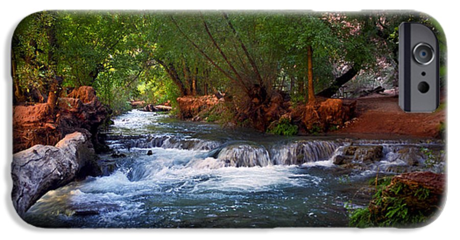 Arizona IPhone 6 Case featuring the photograph Havasu Creek by Kathy McClure