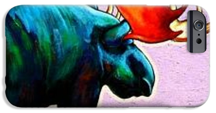 Wildlife IPhone 6 Case featuring the painting He Answers The Call by Joe Triano