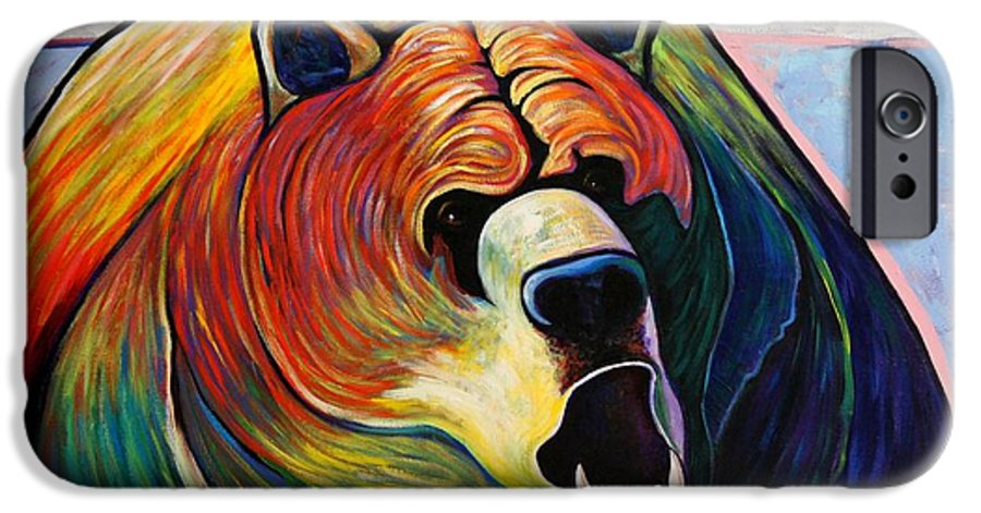 Wildlife IPhone 6 Case featuring the painting He Who Greets With Fire by Joe Triano