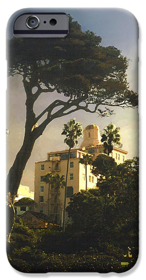 Landscape IPhone 6 Case featuring the photograph Hotel California- La Jolla by Steve Karol