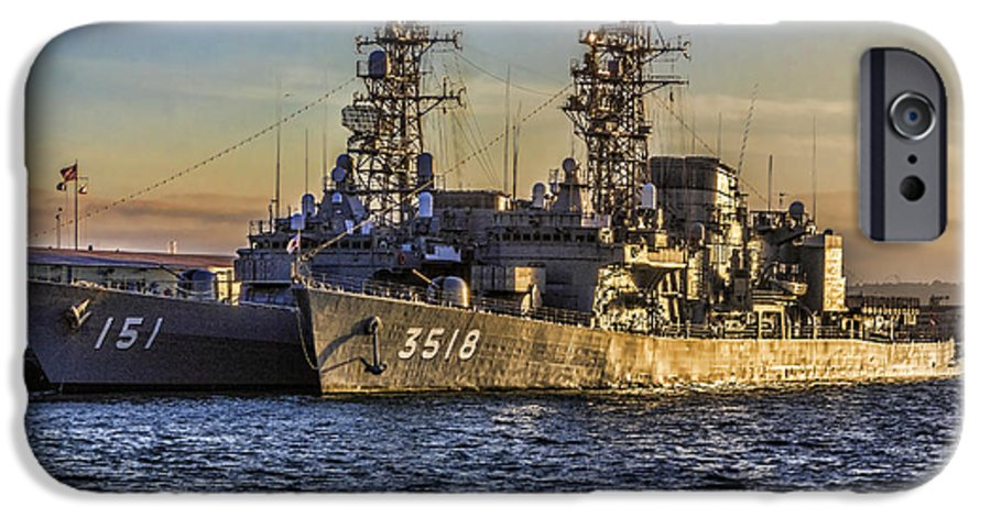 Japanese Ships In San Diego Iphone 6 Case For Sale By