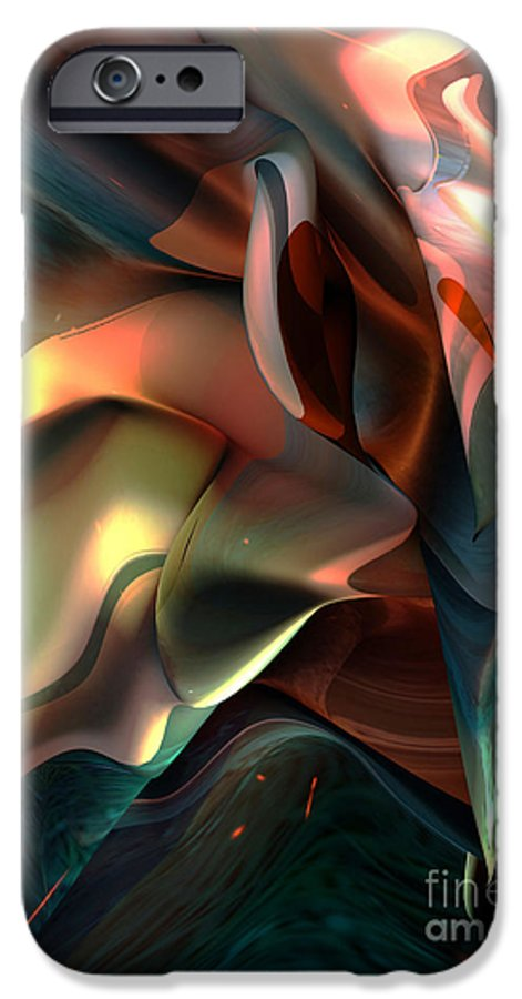 Painter IPhone 6 Case featuring the painting Jerome Bosch Atmosphere by Christian Simonian