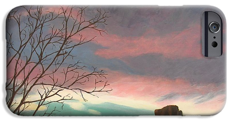 Sedona IPhone 6 Case featuring the painting Jewels In The Sky by Janis Mock-Jones